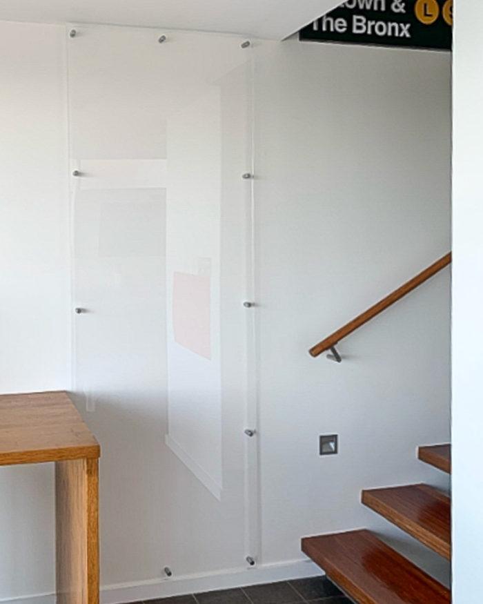 Acrylic Whiteboard, Wall Scrawl, Clear Whiteboard