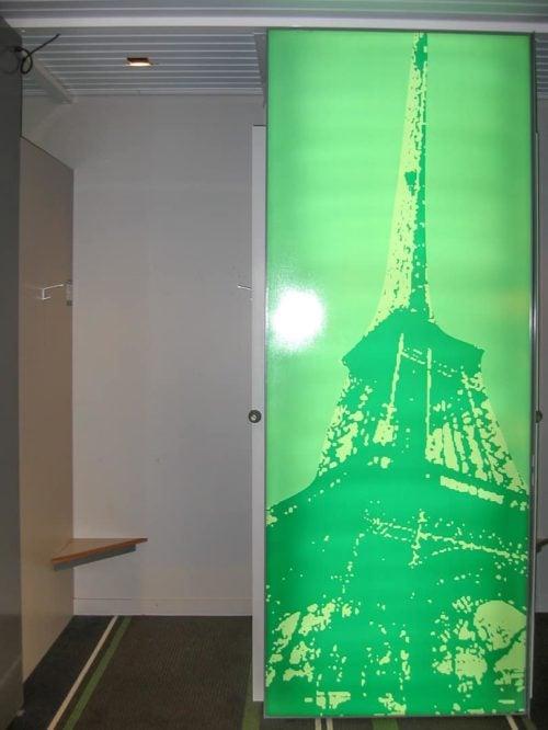 Lightbox, Changeroom, Lightbox Door