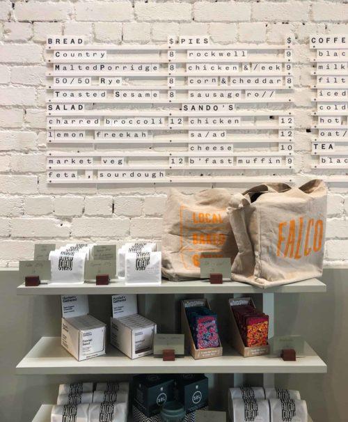 Falco Bakery, Bakery Menu Board, Menu Board, Letter Menu