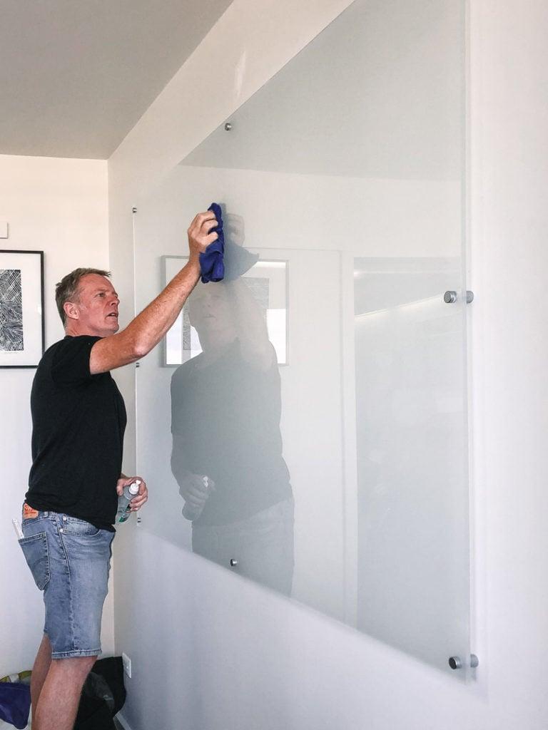 Acrylic whiteboard, Wall Scrawl, Whiteboard, Frameless Whiteboard