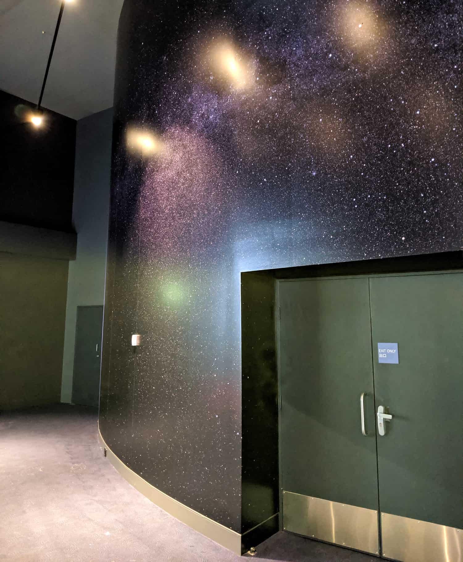Scienceworks, Wall Mural, Planetarium, Lunar Wall Mural