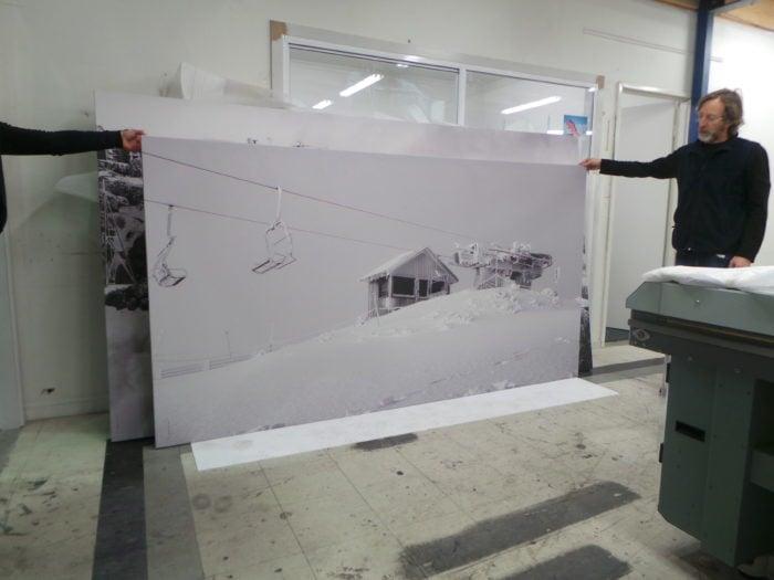 Canvas Art, Frameless Canvas, Printed Art